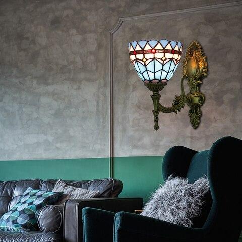 vitrais borboleta luzes de parede para