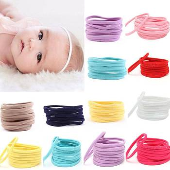 10pcs/lot Nylon Headband for Baby Girl DIY Hair Accessories Elastic Head Band Kids Children Fashion Headwear Newborn Baby Turban 11pcs lot soft nylon headband for baby girl diy hair accessories elastic head band kids children fashion headwear baby turban