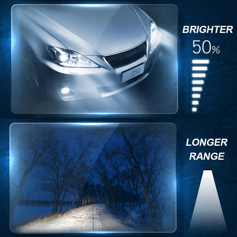 H1 H4 H7 H8/H9/H11 9005 9006 55W Fari Alogeni Bubls Luce per Auto 6000K bianco Impermeabile di Cc 12V di Alto/Basso Del Fascio Auto Lampade
