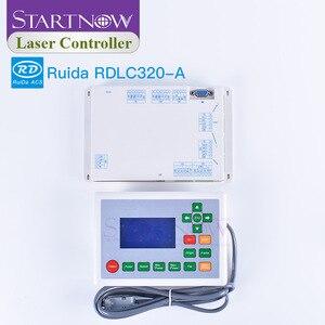 Image 5 - RD 320 A sterowanie laserowe karta DSP płyta główna CNC Ruida RDLC320 A do grawerowania sprzęt części zamienne sterownik laserowy CO2