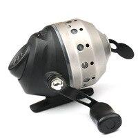 4.3: 1 balık tekerlek metal paslanmaz çelik Spin döküm BowCrossbow döküm makara iplik makarası iç hat makarası HH25