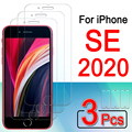 For Iphone Se 2 Glass Protective Iphonese 2021 Se2 Se2021 Tempered Glas I Phone Phonese S E Screen Protector Armor Film 1-3 Pcs