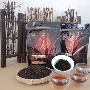 Image 1 - 250g أسود Oolong Tikuanyin فقدان الوزن الشاي متفوقة الشاي الصيني الاسود التعادل الأخضر كوان يين الشاي فضفاضة الوزن الصين الغذاء الأخضر