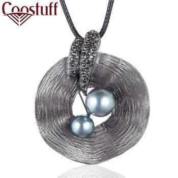 Hotsale Vintage Plant Jewelry długi naszyjnik dla kobiet kolory naszyjnik z koralików Chain Rope duże zawieszenie prezenty Alloy 2020 Female