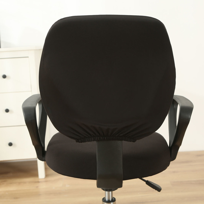 1Set Computer Chair Cover Elastic Spandex Chair Cover Universal Armchair Cover Dustproof Seat Chair Protector Office