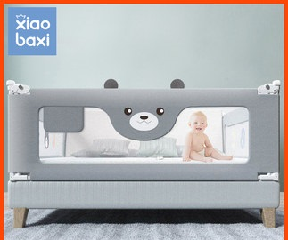 Baby Bed Fence Security Beds Crib Rails Child Bed Guard Rail Portable Travel Bed Guardrail Baby Playpen Activity Center