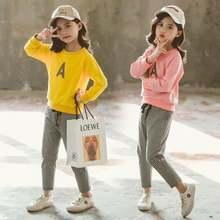 Комплект одежды для девочек новый стиль Детская весенняя одежда