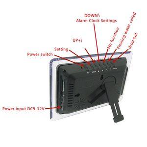 Image 3 - ECL 1227 電子時計 diy キットカレンダー温度表示 led デジタルパネル
