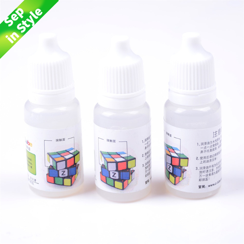 Hot Selling 1 Bottle Magic Cube Smooth Lubricating Oil 10ML Magic Cube Oil Best Silicone Lubricants