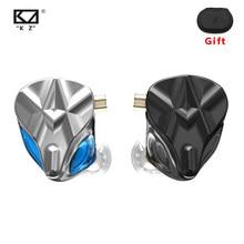 Kz asf fones de ouvido 10 ba unidades alta fidelidade graves no monitor armadura balanceada fone com cancelamento ruído esporte