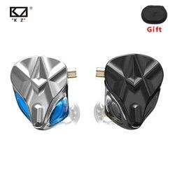 KZ ASF Earphones 10 BA Units HIFI Bass In Ear Monitor balanced armature headset Noise Cancelling Earbuds Sport