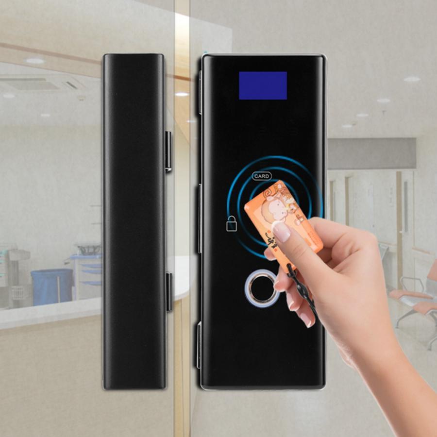 Mot de passe intelligent intelligent de lecteur de carte de serrure de porte d'impression sans clé seguridad puerta pour le matériel de porte de bureau à la maison