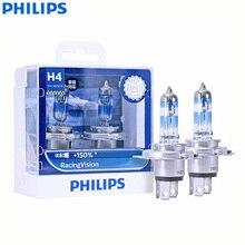 Philips مصباح أمامي هالوجين للسيارة مع شعاع مزدوج ، إضاءة أكثر إشراقًا ، H4 9003 HB2 12V P43t 12342RVS2 150%