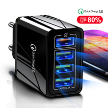 Lovebay 48W Quick Charger 3.0 USB Charger For iphone Samsung