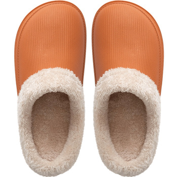 New Fashion 2019 Woman House Slippers EVA Warm Fur Slippers Plush Home Slipper Indoor Floor Shoes for Female Winter Slippers 4
