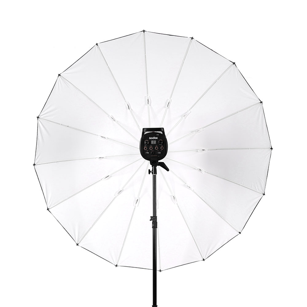 Godox 180cm Outside Black + inside sliver Photography studio umbrella Is helpful in professional shooting without wihte cover image