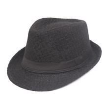 Winter Hat Wide Brim Jazz Hat Men Outdoor Hat Retro Bowler Hats(China)