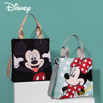 Exclusive Disney Newest Baby Diaper Tote Bag Maternity Insulated Mommy Bags Mickey Mouse Backpack for Mom Waterproof Antifouling Bags Kids