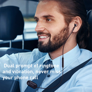 Image 2 - Baseus A06 Bluetooth Earphone Portable Business Wireless Headset Handsfree with Clip for Driving Car Work for iPhone