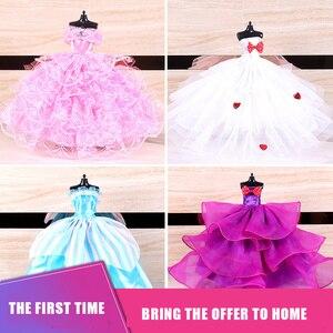 5 шт/10 шт набор 30 см Bjd кукла Общая Одежда Аксессуары 1/6 модное платье принцессы вечерние платья для танцев Одежда для девочек игрушка|Куклы|   | АлиЭкспресс