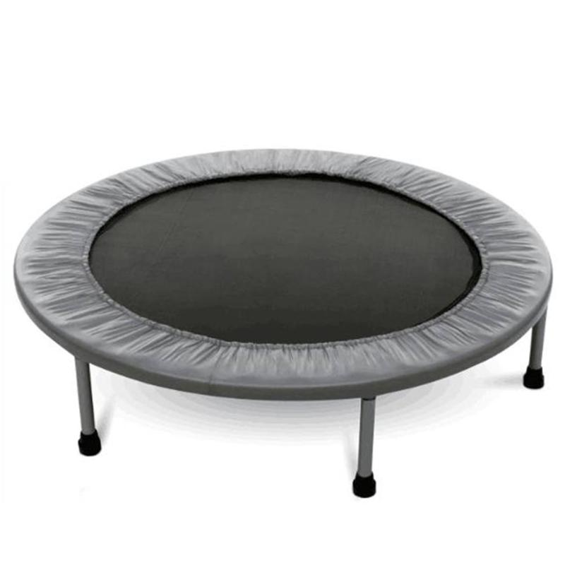 38ft Foldable Waterproof Round Trampoline Bounce Gymnastic Sport Fitness Exercise Equipment Elastic Exercise Workout with Paddi