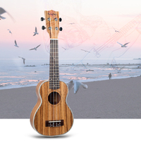 Basswood 21 inch Soprano Ukulele Hawaii Guitar Mini Musical Instrument Gift for Friends Adults