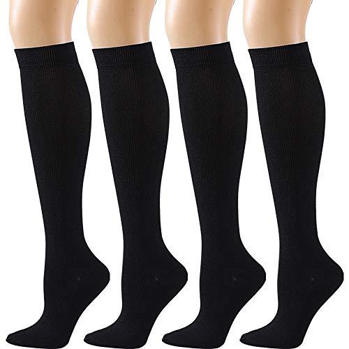 Компрессионные чулки Для мужчин Для женщин Для мужчин носки для пеших прогулок, бега 20-30 мм полета Беременность отекают варикозное расширен...