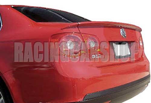 BOYASıZ OE-STYLE 3 ADET BAGAJ DUDAK SPOILER Fit Için VW JETTA 5 MK5 2006-2009 V014F