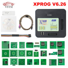 Nowo XPROG V6.26 V6.12 V6.17 dodaj nową autoryzację V5.84 X-PROG M metalowe pudełko XPROG-M programator ECU X Prog M pełne adaptery