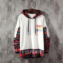 hip hop Pullover Jackets Men 2019 Autumn  Hoodie  Male special desgin Casual Windbreaker sweatshirt Streetwear цены