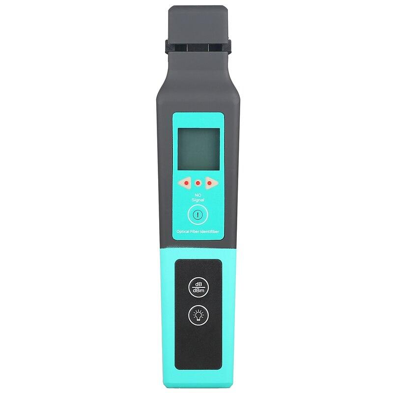 Frete grátis comptyco identificador de fibra óptica 800-1700nm identificador de fibra ao vivo detector de identificação de fibra optica