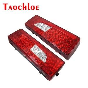Luces traseras de combinación LED de 2 uds. G450 G400 para Scania de 24V, luces traseras izquierda y derecha para camiones pesados, OEM 2380954 2241859