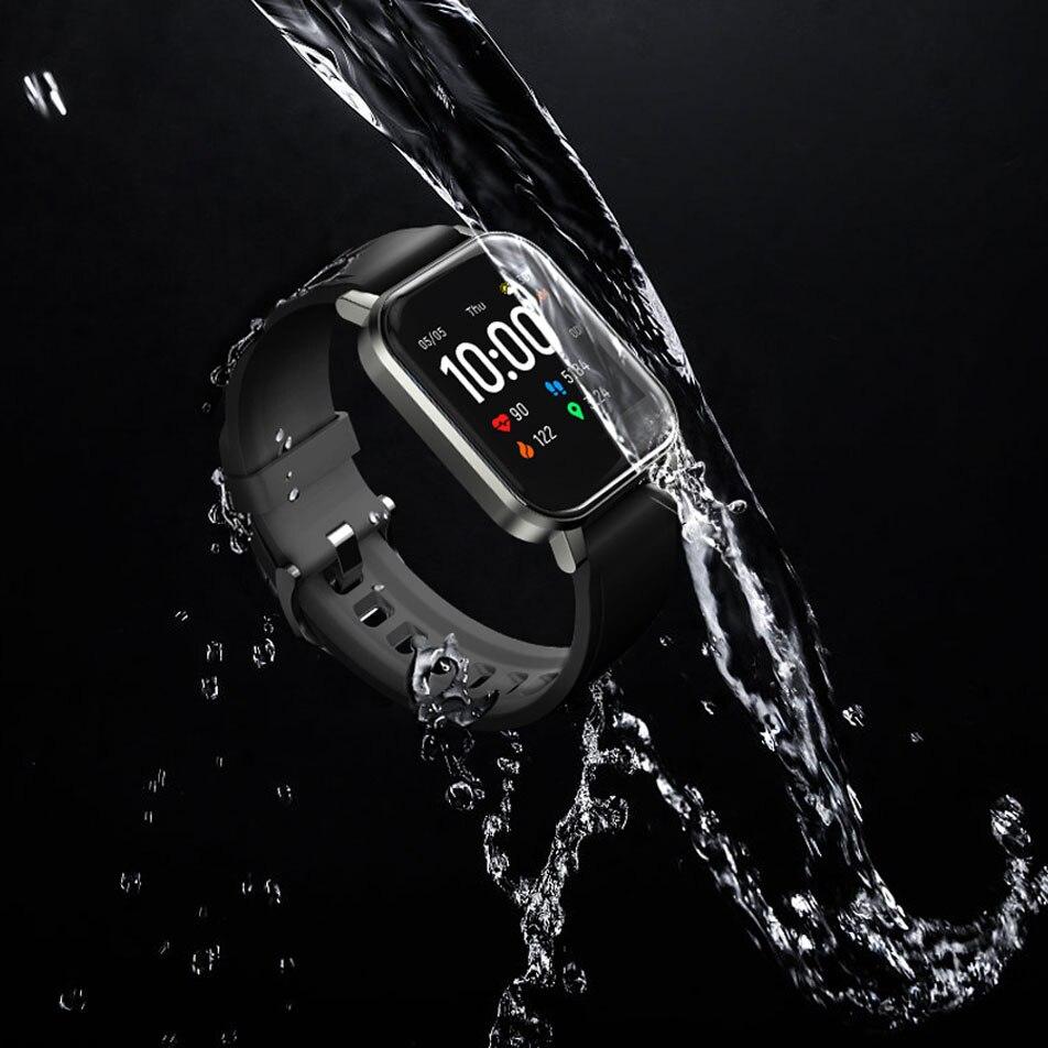 Новинка, хит продаж, Смарт-часы Haylou LS02, английская версия, водонепроницаемость IP68, 12 спортивных режимов, напоминание о звонках, умный Браслет Bluetooth 5,0-4