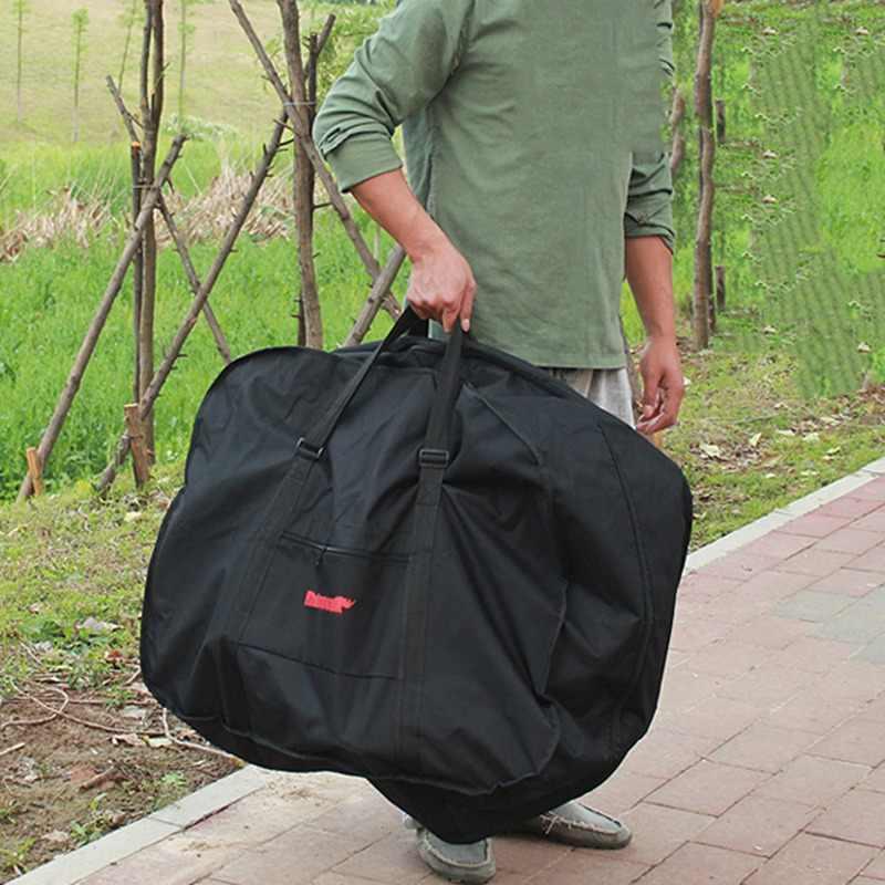14 16 20 дюймов Складная велосипедная транспортная сумка Водонепроницаемая погрузка складывающаяся велосипедная Сумка Для Переноски Сумка переноска для велосипедов