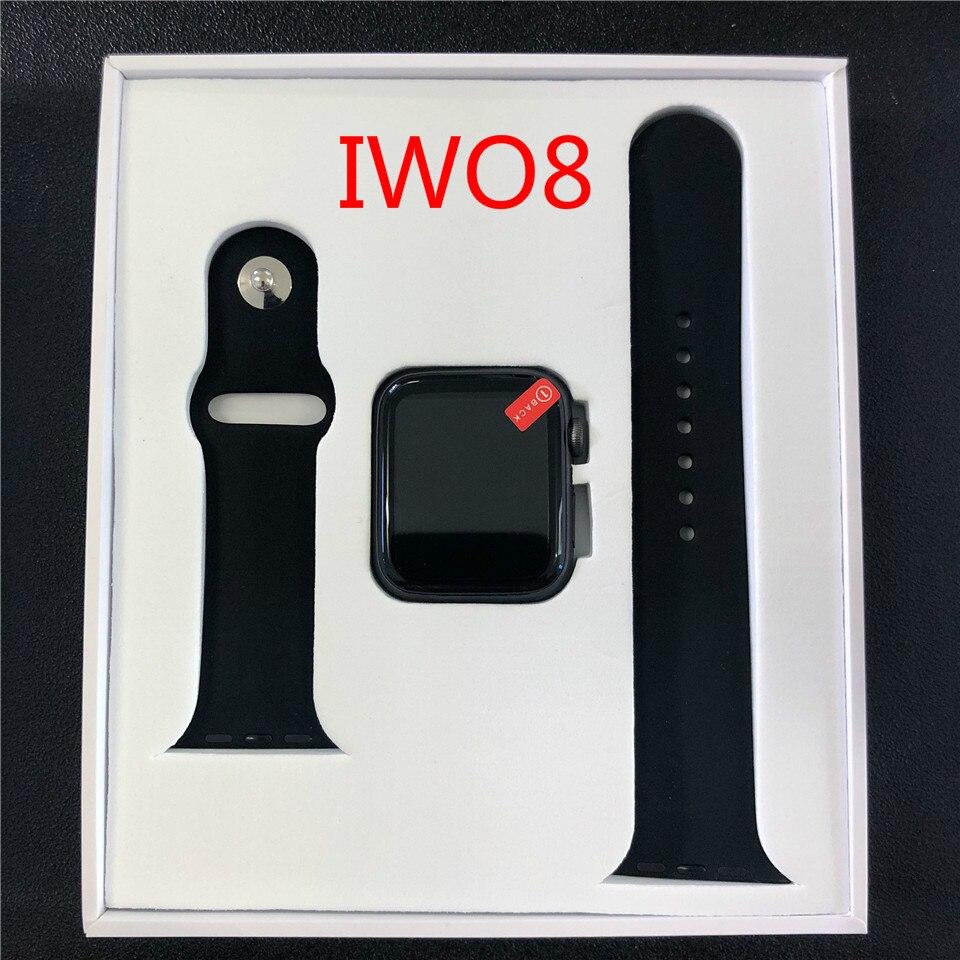 IWO 8 Montre Intelligente Série 4 Hommes Iwo8 Relogio Inteligente Brinde Pulseira Bluetooth SmartWatch Android pour Mise À Niveau D'IOS IWO 7 5 6
