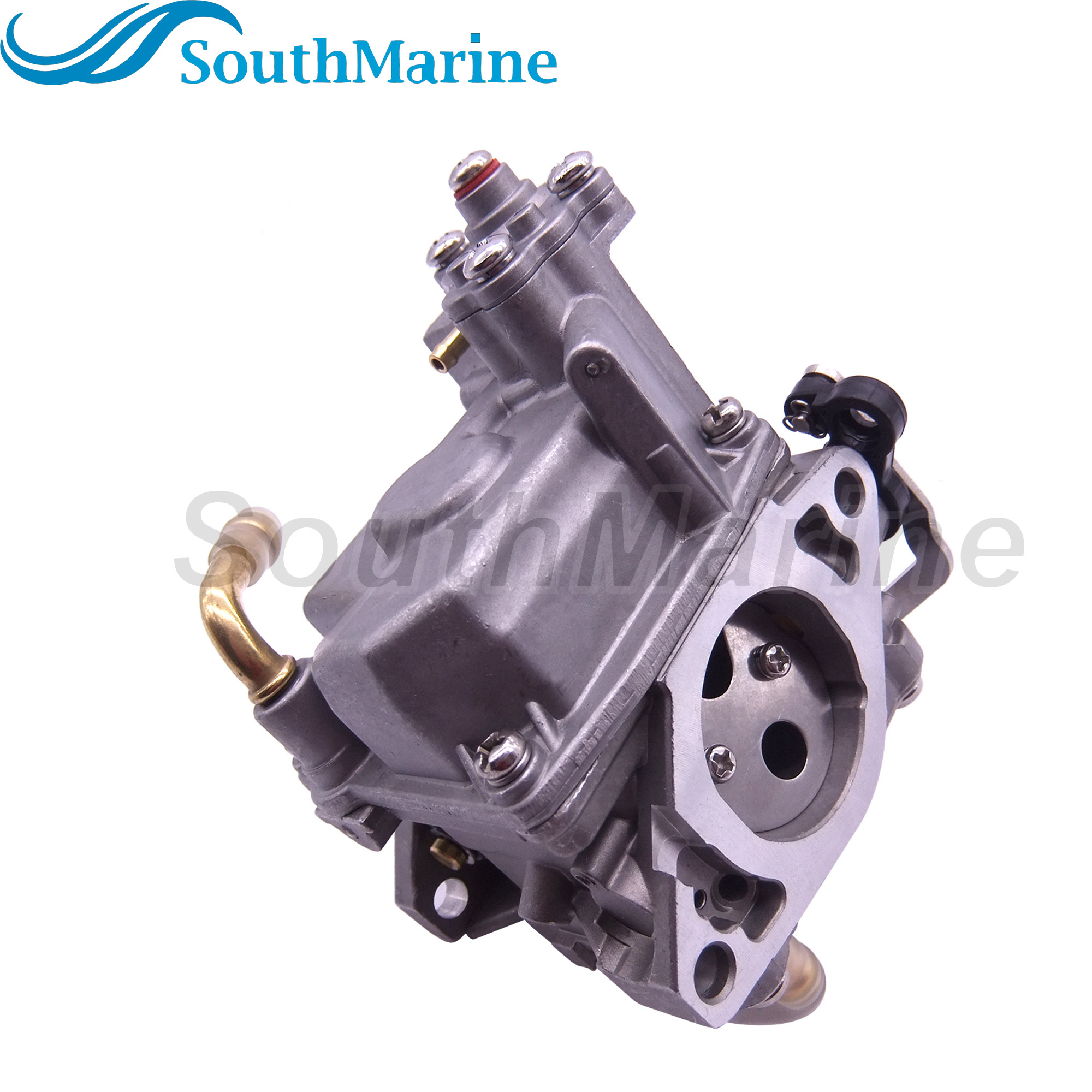 Boat Motor 853720T15 853720T21 8M0109535 Carburetor Assembly For Mercury Mariner Outboard Engine 15HP 4-stroke, Remote Model