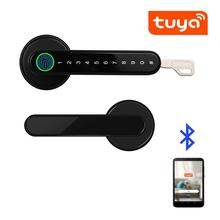 Biometrics-Lock Smartlife Wooden Remote-Control Tuya Metal-Door Bluetooth APP