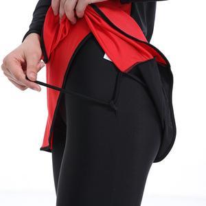 Image 5 - HAOFAN maillot de bain traditionnel rouge bordeaux pour femmes, moyen orient, costume de bain traditionnel Hijab, couverture complète, taille 4XL, maillot de bain musulman