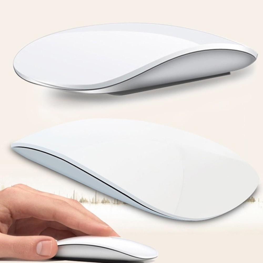 Wireless Ultra Thin Magic Computer Mouse For Apple Macbook Ergonomic Arc Touch Optical Usb Mause 3D PC Mice 2 For Laptop Desktop