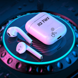 Original i12 TWS Wireless Headphones Bluetooth Earphone Air Earbuds Sport Handsfree Headset With Charging Box For iPhone Android