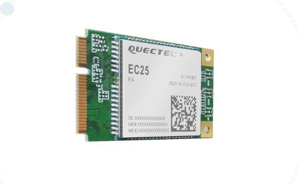 LTE EC25 mini pcie Küresel EG25 G EC25 E EC25 AF EC25 AU EC25 A EC25 J EC25 V EC25 EC MIMO teknoloji CAT4 4G + GPS destek GNSS
