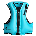Flutuabilidade colete colete salva-vidas de segurança portátil inflável adulto crianças snorkeling flutuante surf água segurança esportes coletes salva-vidas