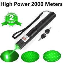 Zk20 dropshipping 303 laser verde militar 532nm 5mw verde caneta laser ponteiro queima laser jogo + 18650 bateria estoque em eua ru