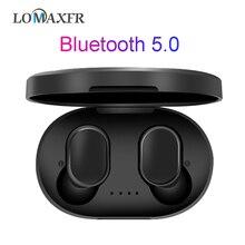 Kulaklık Bluetooth kulaklık kablosuz kulaklık spor kulaklık oyun kulaklıkları Hifi mikrofonlu tekli kulaklıklar Redmi için Airdots