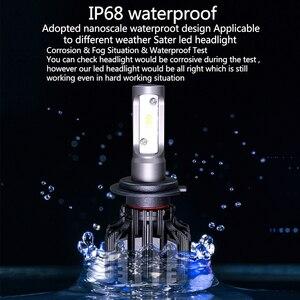 Image 4 - PANDUK CSP 16000LM araba far H4 H7 LED H1 H3 H8 H9 H11 LED 3000K 6000K 8000K 9005 9006 HB3 HB4 880 LED ampul sis araba lambası
