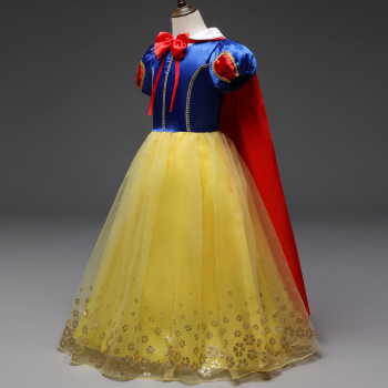 Disney Snow White Princess Girls Dress Kids Dresses for Girls Christmas Dress Up Costume Party Ball Gown Floral New Year Clothes disney snow romance cartoon dress child summer foreign ocean dress regular princess girls diamond dress