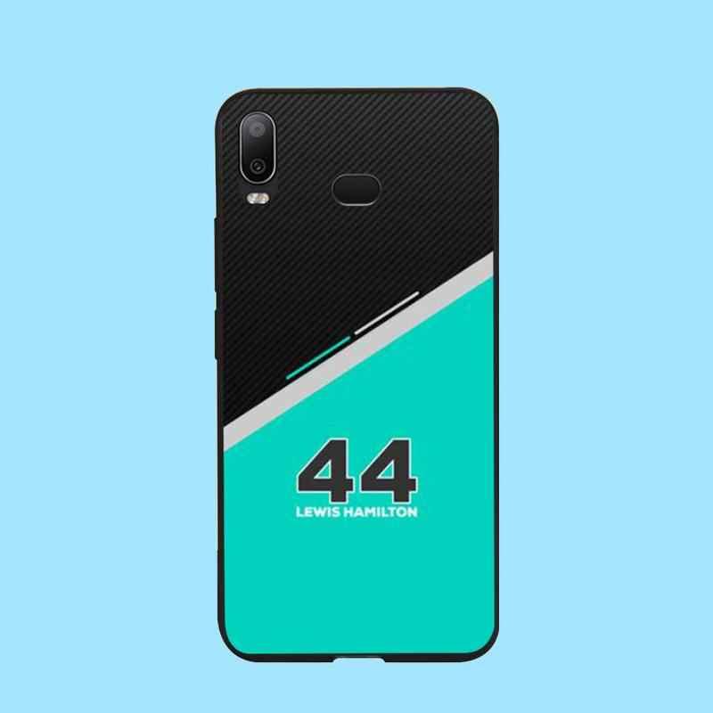 PENGHUWAN Lewis Hamilton F1 F1 Bling sevimli telefon kılıfı Samsung A10 A20 A30 A40 A50 A70 A71 A51 A6 a8 2018