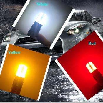2018 newest led 1156 p21w ba15s led car light Silica gel smd COB automobile vehicle motorcylce brake tail park lamp 10