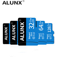 Classe 10 Scheda di Memoria Flash Microsd 8 16 32 64 128 256 GB Micro SD Carta di TF 8GB 16GB 32GB 64GB 128GB 256 GB per Smartphone Adattatore