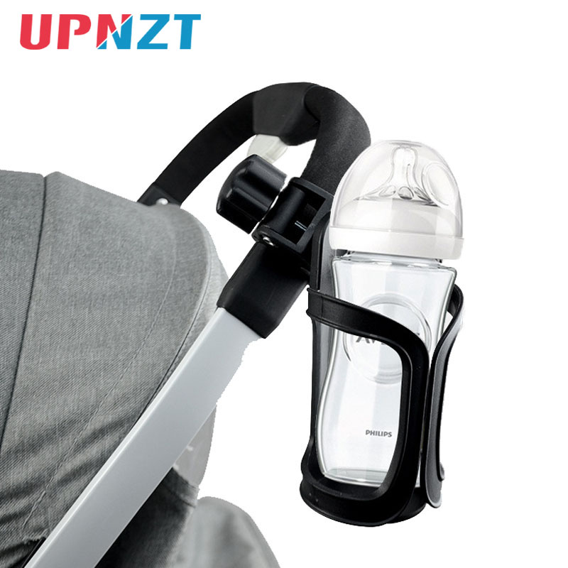 Baby Stroller Cup Holder Stroller Accessories For Milk Bottles Rack Bicycle Bike Bottle Holder  PVC Material Easy Installation